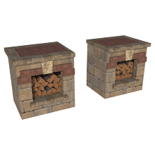 Jamestown Wood Boxes